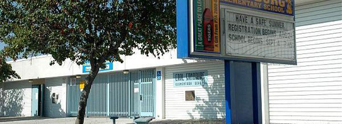 Sandburg Elementary San diego